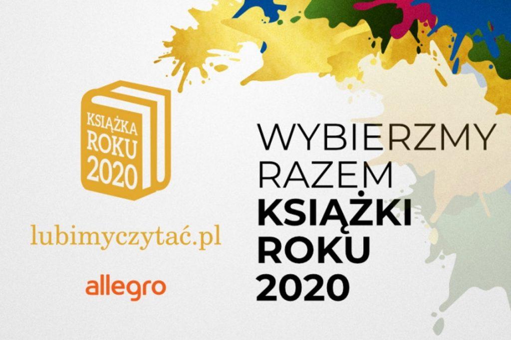 Co czytali Polacy w 2020 roku? Który tytuł zostanie Książką Roku?